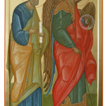 Архангел Михаил и апостол Петр