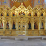 Иконостас в Храме Неувядаемый цвет пос.Рублево