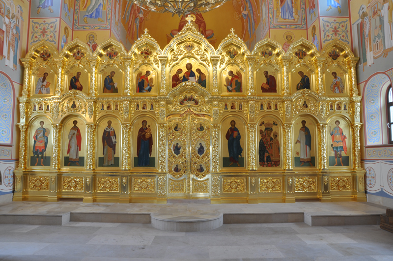 иконостас, эклектика, царские врата