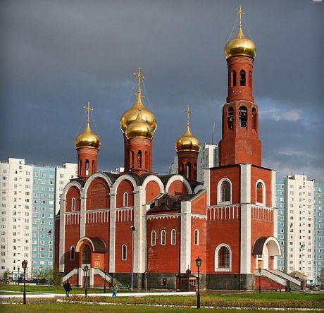 храм рождества христово Нижневартовск